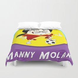 Manny Molar Duvet Cover