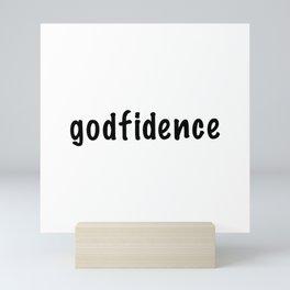 Godfidence Mini Art Print