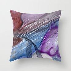 Abandoned Analog Zine Throw Pillow