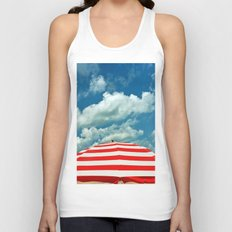 Summer Day at the Beach Unisex Tank Top