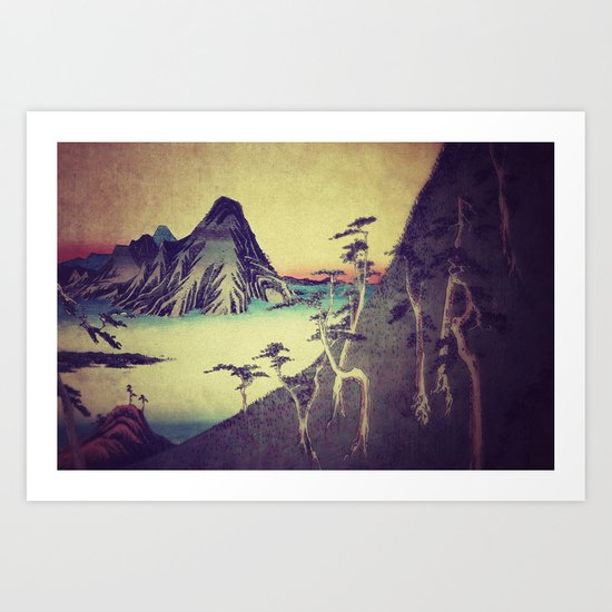 On our way to Zina Art Print