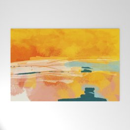 sunny landscape Welcome Mat