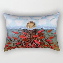 Under Water / Above Water Rectangular Pillow