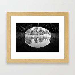 The Boatshed Framed Art Print