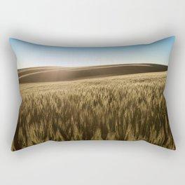Palouse Sunset Photography Print Rectangular Pillow