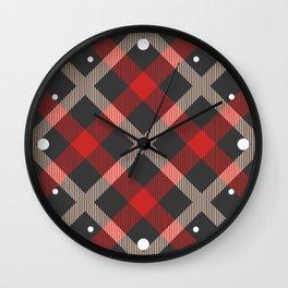 Classic Tartan Wall Clock
