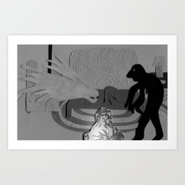 The Creeps Art Print