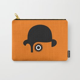 A Clockwork silhouette Carry-All Pouch