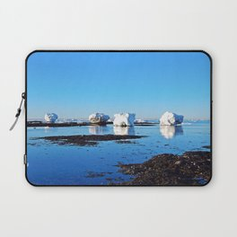 Winter on the Saint-Lawrence Laptop Sleeve