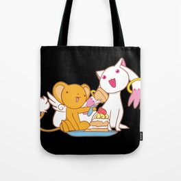 Wanna Eat a cake and make a contract? Tote Bag
