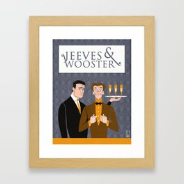 Jeeves and Wooster Framed Art Print