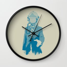 Come To Our Aid Wall Clock
