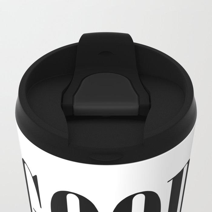 Good Vibes Metal Travel Mug