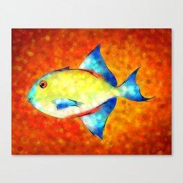 Esperimentoza - gorgeous fish Canvas Print
