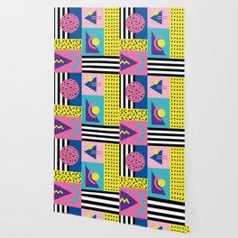 Memphis pattern 53 - 80s / 90s Retro Wallpaper