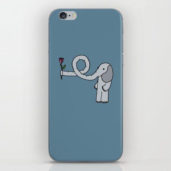 Elephant in love iPhone & iPod Skin