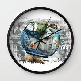 PAS (HSP) Wall Clock