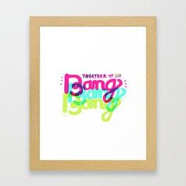 Together We Go Framed Art Print