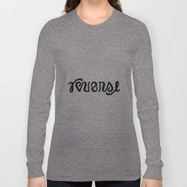 REVERSE ambigram Long Sleeve T-shirt