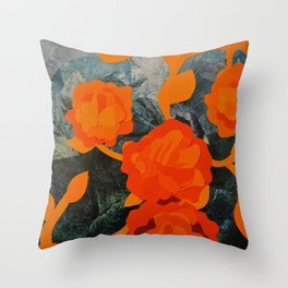 Growth and Decay #4 Throw Pillow