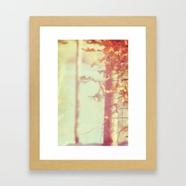 tales from the butterscotch forest Framed Art Print
