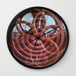 Coffee Grinder / Vent Wall Clock