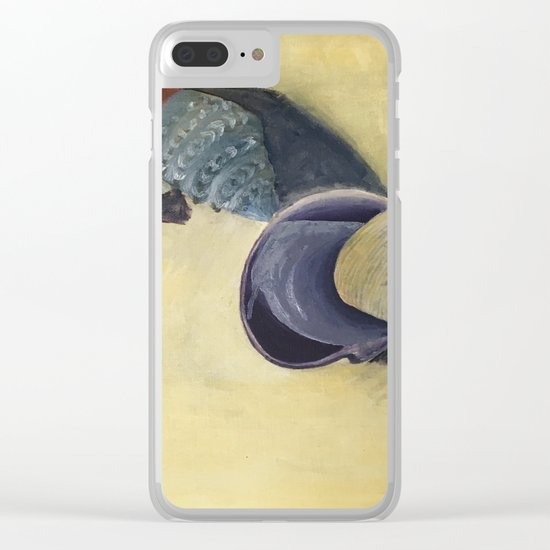 Scattering shells Clear iPhone Case