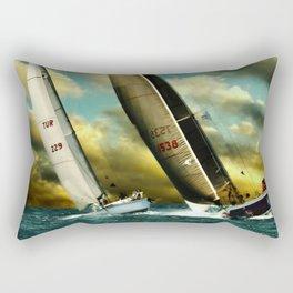 sailrace Rectangular Pillow