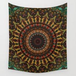 Trippy Fractal Kaleidoscope 2 Wall Tapestry