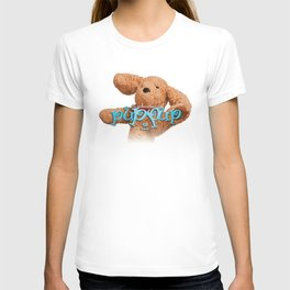 The Adventures of Puppup with Title T-shirt
