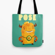 :::Pose Monster::: Tote Bag