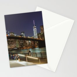 Brooklyn Bridge Nights Stationery Cards