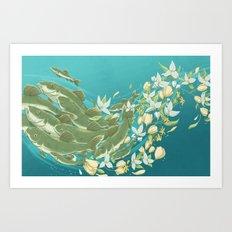 Harbingers of Spring Art Print