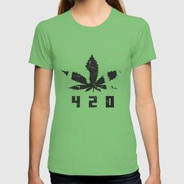 420 Marihuana b T-shirt