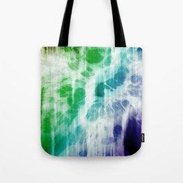 Retro, Boho Chic Tye-Dye Pattern Tote Bag