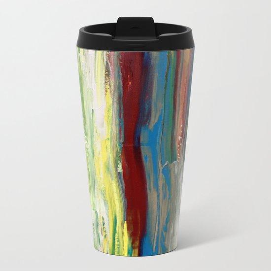 Abstract Painting #3 Metal Travel Mug