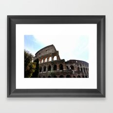 Coliseum Framed Art Print