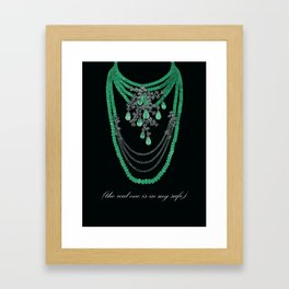 the real one is in my safe #1 Framed Art Print