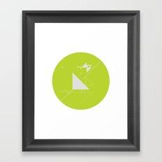 cercle_ I Framed Art Print