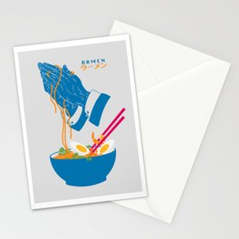 Delicious Daily Ramen Stationery Cards