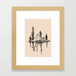 Abstract Landscpe Framed Art Print