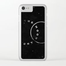 .to the moon and back. Clear iPhone Case