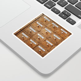 Pharmacy storage Sticker