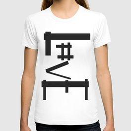 Hashtag Love T-shirt