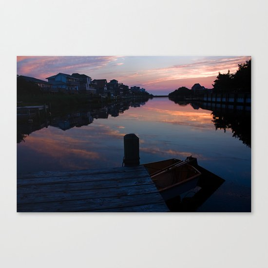 Silhouettes in Frisco Canvas Print