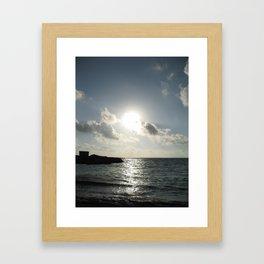 Island Ruin Framed Art Print