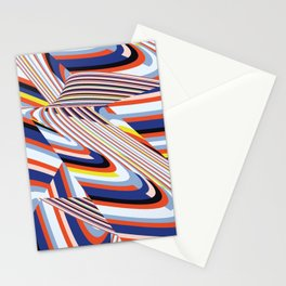 Over Lines Stationery Cards
