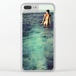 Nude Ocean Clear iPhone Case