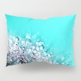Dandelion With Water Crystals Pillow Sham