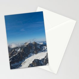 Mont Blanc . 3 Stationery Cards